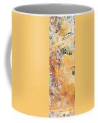 Abstract Decorative Art Original Circles Trendy Painting By Madart Studios Coffee Mug