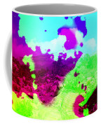 Abstract Desert Scene Coffee Mug