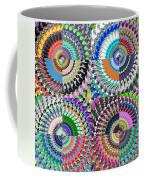 Abstract Digital Art Collage Coffee Mug