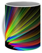 Abstract Digital Fractal Flame Art Coffee Mug