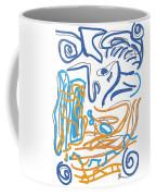 Abstract Digital Coffee Mug