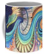 Abstract Dragon Coffee Mug