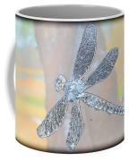 Abstract Dragonfly Coffee Mug