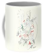 Abstract Drawing Fifty-five Coffee Mug