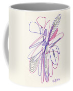 Abstract Drawing Fifty-six Coffee Mug