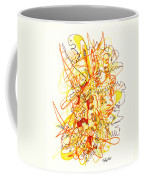 Abstract Drawing Fifty-three Coffee Mug
