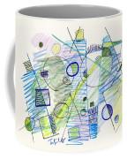 Abstract Drawing Seven Coffee Mug