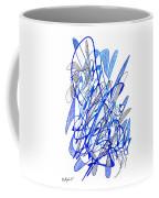 Abstract Drawing Seventy Coffee Mug