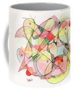 Abstract Drawing Twenty Coffee Mug