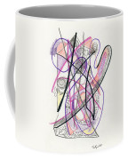 Abstract Drawing Twenty-six Coffee Mug