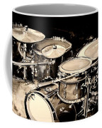 Abstract Drum Set Coffee Mug