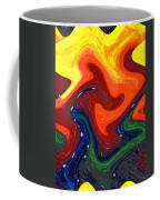 Abstract Eight Of Twenty One Coffee Mug