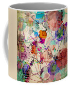 Abstract Expressionism Coffee Mug