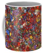 Abstract - Fabric Paint - Sanity Coffee Mug