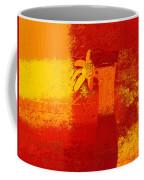 Abstract Floral - 6at01a Coffee Mug