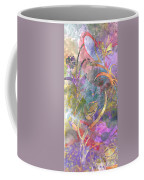 Abstract Floral Designe - Panel 1 Coffee Mug