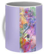Abstract Floral Designe - Panel 2 Coffee Mug