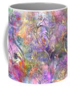 Abstract Floral Designe  Coffee Mug
