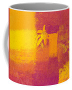 Abstract Floral - M31at1b Coffee Mug by Variance Collections