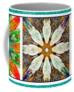 Abstract Flower Triptych Coffee Mug