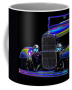 Abstract Ford - Classic Hotrods Coffee Mug