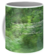 Abstract Forest Coffee Mug