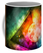 Abstract Full Moon Spectrum Coffee Mug by Phil Perkins