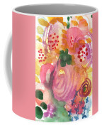 Abstract Garden #44 Coffee Mug by Linda Woods