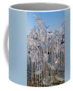 Abstract Glass Art Sculpture Coffee Mug