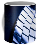 Abstract Glass Coffee Mug