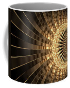 Abstract Gold Series 1 Coffee Mug