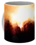 Abstract Golden Landscape Coffee Mug