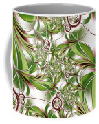 Abstract Green Plant Coffee Mug