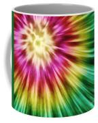 Abstract Green Tie Dye Coffee Mug