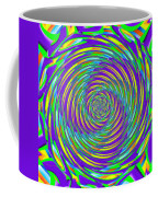 Abstract Hypnotic Coffee Mug by Kenny Francis
