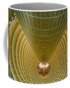 Abstract In Gold Coffee Mug