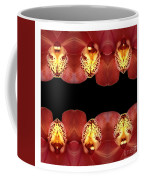 Nature In Abstract Orchid Square Coffee Mug