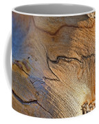 Abstract In Old Wood Coffee Mug