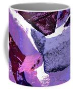 Abstract In Purple Coffee Mug