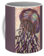 Abstract Jellyfish In Ink Coffee Mug