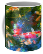 Abstract Koi 1 Coffee Mug