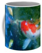 Abstract Koi 3 Coffee Mug