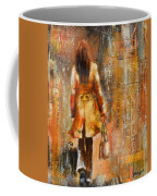 Abstract Lady  5 Coffee Mug