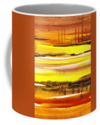 Abstract Landscape Found Reflections Coffee Mug