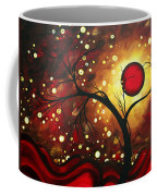 Abstract Landscape Glowing Orb By Madart Coffee Mug