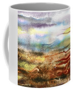 Abstract Landscape Morning Mist Coffee Mug