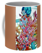 Abstract Leaves Coffee Mug