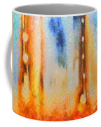 Abstract Lift Off  Coffee Mug by Pixel Chimp