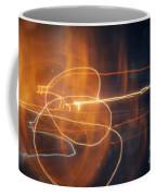 Abstract Light Streaks Coffee Mug