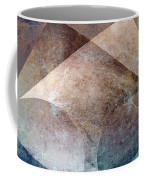 Abstract Metal Coffee Mug